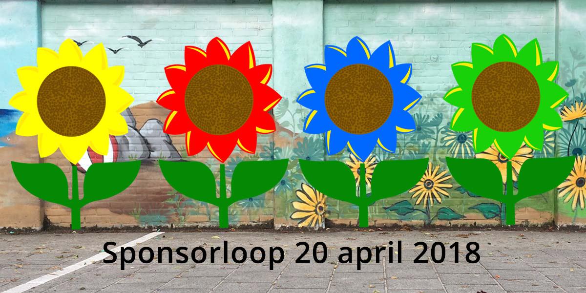 Zonnebloemschool Sponsorloop: 'Het Schoolplein groen, dat gaan we doen!'
