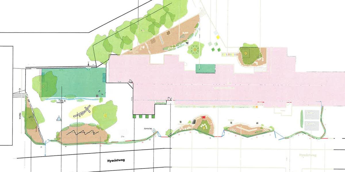 Groen Blauw Schoolplein – Fase 1